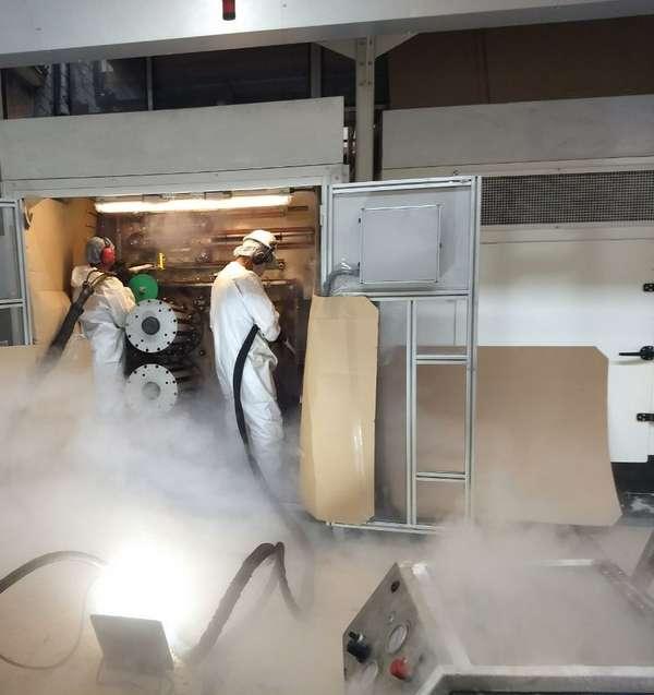 Empresas de jateamento com gelo seco