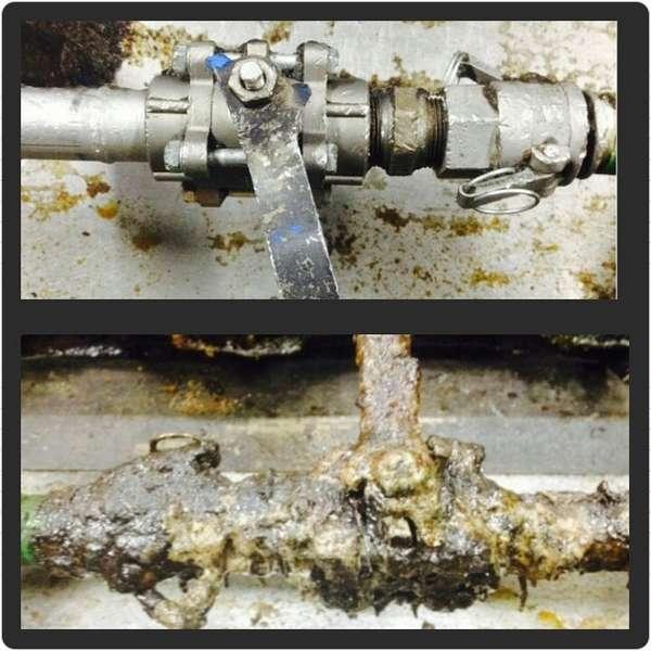 Limpeza criogênica de superfícies