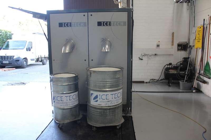 Fábrica de gelo seco