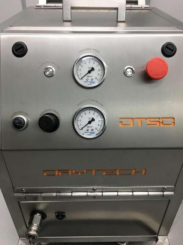 Máquina de jateamento de gelo