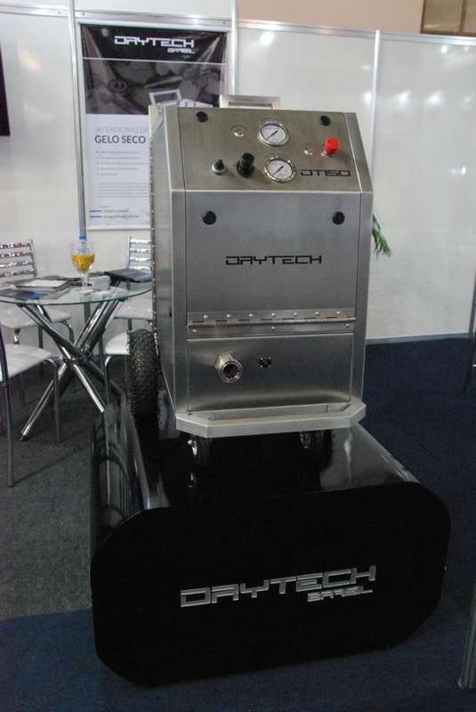 Máquina de jateamento de gelo seco onde comprar