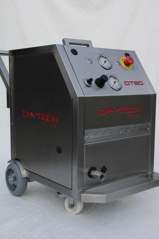Máquina de jateamento de gelo seco preço
