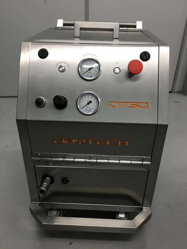 Máquina limpeza criogênica